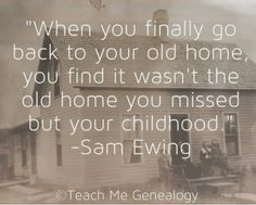 Genealogy Quote: