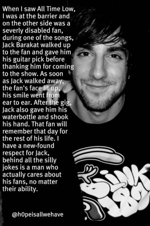 Kindve a story instead of quote but whatever... Jack Barakat.
