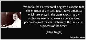 in the electroencephalogram a concomitant phenomenon of the continuous ...