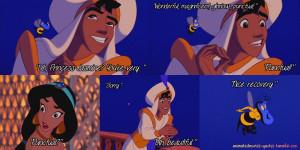... Aladdin Romance Princess Jasmine By Her Balcony In Disney's Aladdin