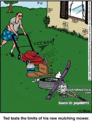 Grass Cutting cartoons, Grass Cutting cartoon, funny, Grass Cutting ...