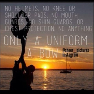 Cheerleading is more than girls trying to look pretty it's a real ...
