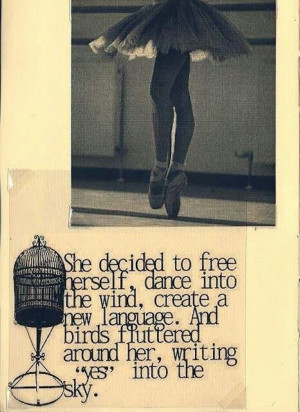 She Decide To Free Herself Dance Into The Wind Create A New Language ...