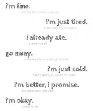 self harm cutting quotes tumblr