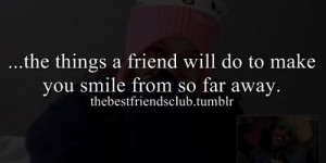Best Friend Long Distance