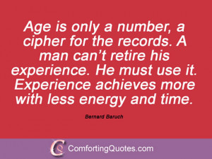Quotes And Sayings By Bernard Baruch