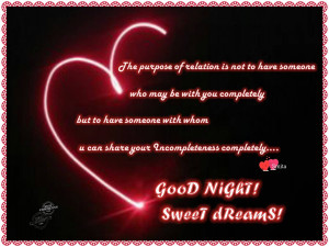 Cute Goodnight Text For Him Picture: good night