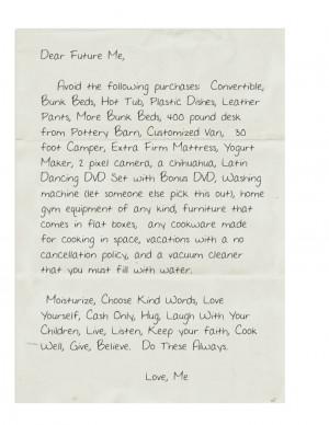 Dear Future Boyfriend Letters Dear Future Boyfriend