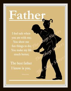 day poems, dad and daughter quotes, father's day poem, daughter poem ...