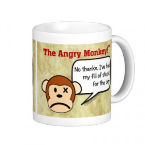 zazzle.comI'm done dealing with stupid people for the day mug by ...
