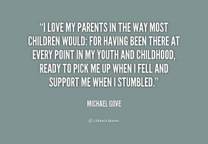 Love My Parents Quotes -gove-i-love-my-parents-in