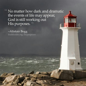 Lighthouse and quote ...