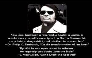 Jim Jones the Atheist preacher of Jones Town