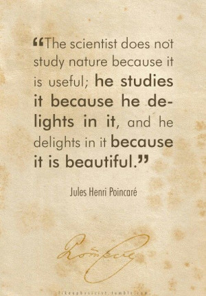 Jules Henri Poincare...hey I'm doing my thesis on his work! Yay for ...