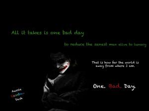 Madness Quotes Joker The dark knight joker quote: