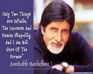 Amitabh Bachchan Quote On Stupidity