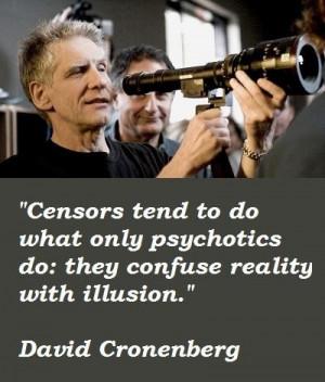 David cronenberg famous quotes 2