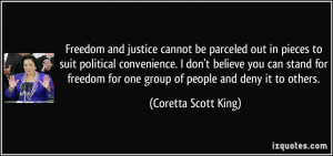 More Coretta Scott King Quotes