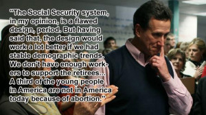 The Ten Craziest Rick Santorum Quotes