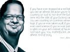 Penn Jillette Quote, An illustration of Penn Jillette along with a ...