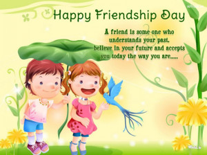 happy friendship Day Quote And Like A Cartoon HD Wallpapers For ...