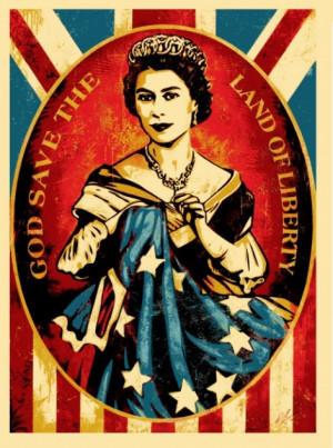 Shepard Fairey's Queen Elizabeth