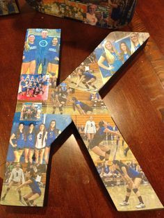 Volleyball Senior night gift. Wish I wouldve seen this before senior ...
