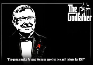 ... Sir Alex Ferguson to the famous mafia don in his newspaper column