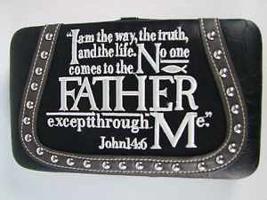 Details about Montana West Spiritual Quote Wallets VSC-W007