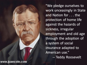 Dear Rick Perry: Would Teddy Roosevelt have extended Medicaid to all ...