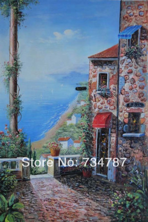 Oil Painting Shops Will Not