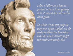 Lincoln quote on capitalism