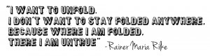 Rainer Maria Rilke quote vs the purple life