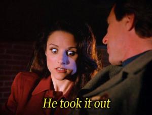 Elaine Benes #Seinfeld http://seinfeldtv.tumblr.com/