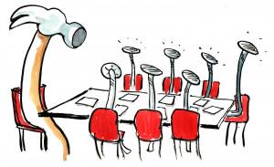 Staff Meeting Blues