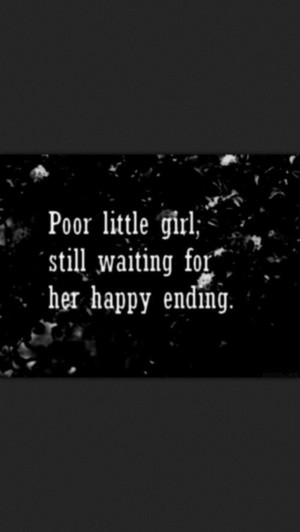 Waiting for a happy ending
