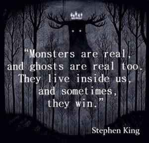 Stephen King...my hero! I'll never get tired of reading