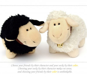 Quote,sheep,black sheep,white sheep,cute,lovely