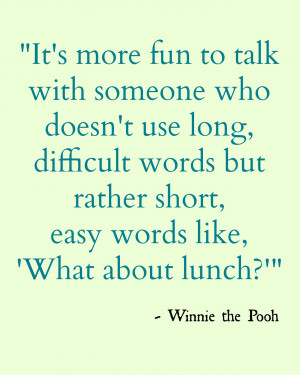 ... 17> Images For - Winnie The Pooh Quotes About Love And Life