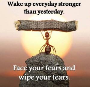 Wake Everyday Stronger Than