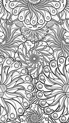 Awesome Coloring Pages for Adults Flowers