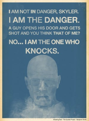 Walter White - Breaking Bad Art Print