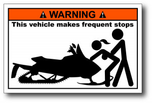 Funny Warning Stickers Car Decals