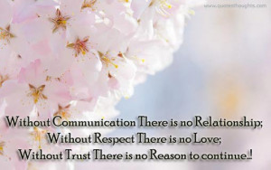 Relationship Quotes-Thoughts-Without Respect There is no Love