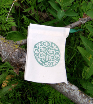 Prayer Bag joy rumi quote a bag to hold prayer beads and meditation ...