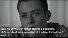 Quotes From American History X Hate Is Baggage ~ American history x ...