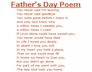 Fathers Day Poems Fathers Day Wishes Quotes
