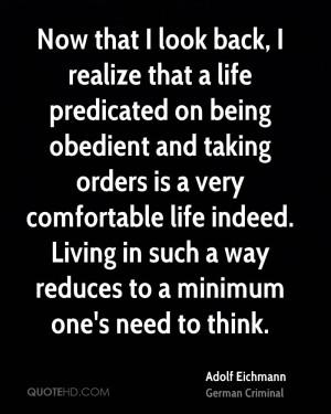 Adolf Eichmann Quotes