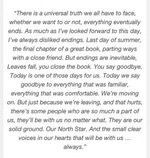 Alexis Castle's graduation speech