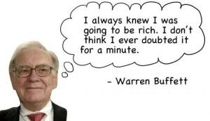 warren buffett positive affirmation quotes